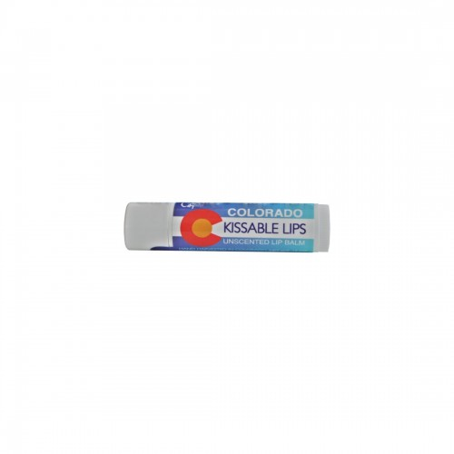 Colorado Kissable Lips Unscented Lip Balm