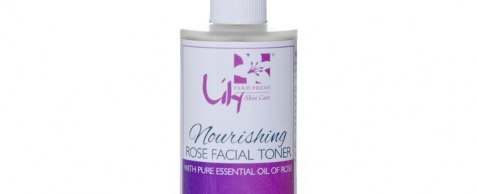 Organic Nourishing Rose Facial Toner