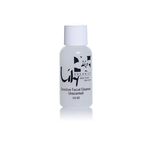 Organic Sensitive Facial Cleanser - trial size