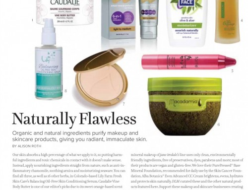 Lily Farm Fresh Skin Care Featured in Denver Life Magazine