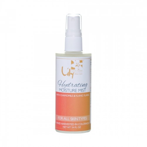 Lily Farm Fresh Organic Skin Care Hydrating Moisture Mist