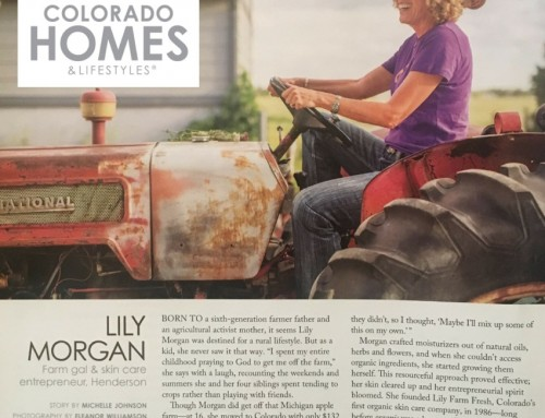 Colorado Home & Lifestyles came out to see us!