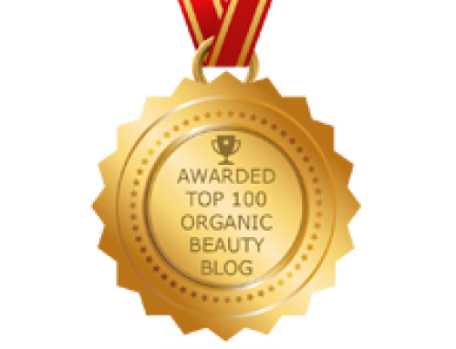 We have a Top 100 Organic Beauty Blog